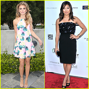 AnnaLynne McCord & Jenna Ushkowitz Support Human Trafficking Survivors at Cast Gala