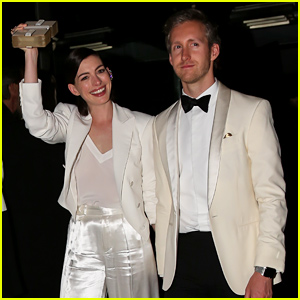 Anne Hathaway & Adam Shulman Look So Happy at Met Gala 2015 After Parties!