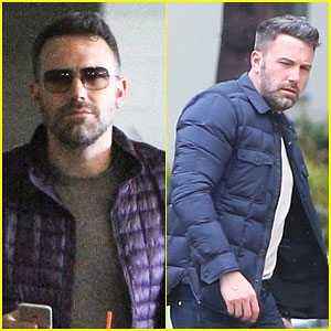 Ben Affleck Kicks Off His Weekend With Some Work
