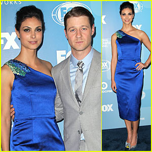 Ben McKenzie & Morena Baccarin Are 'Gotham' Duo at Fox Upfronts