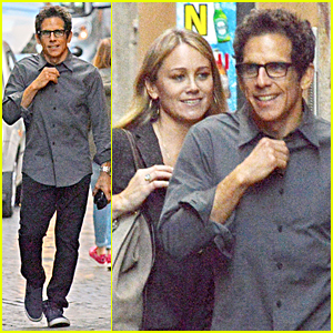 Ben Stiller & Wife Christine Taylor Step Out Following His Mom's Death