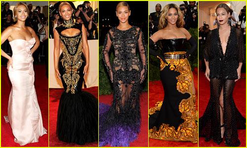 Beyonce's Met Gala Looks Have Always Been Amazing!