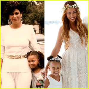 Beyonce & Blue Ivy Carter Look Like Twins in Mother's Day Throwback!