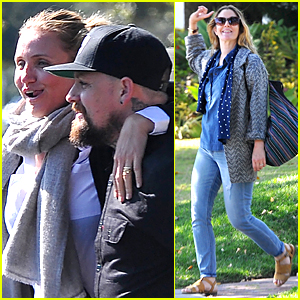 Cameron Diaz & Benji Madden Hang Out With Drew Barrymore During Memorial Day Weekend