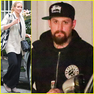Cameron Diaz & Benji Madden Spend Their Saturday Together
