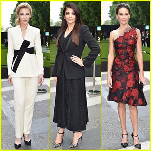 Cate Blanchett, Aishwarya Rai, & Hilary Swank Are Classy Ladies at Armani's 40th Anniversary!