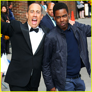 Chris Rock, Jerry Seinfeld, Tina Fey & More Arrive for Final 'Late Show With David Letterman' Taping