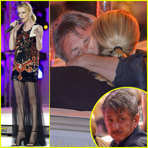 Charlize Theron & Sean Penn Cozy Up at Life Ball in Vienna