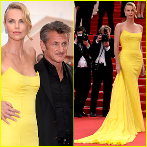 Charlize Theron & Sean Penn Walk the Red Carpet for 'Mad Max' Cannes Premiere!