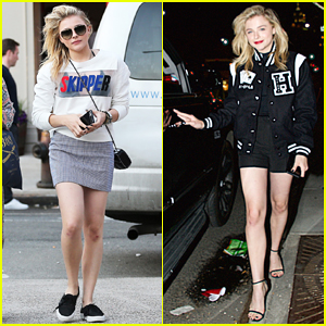 Chloe Moretz Has Water Filled Night in New York!