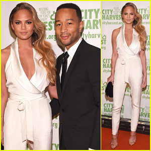 Chrissy Teigen & John Legend Have An Evening of Practical Magic at City Harvest Gala 2015!