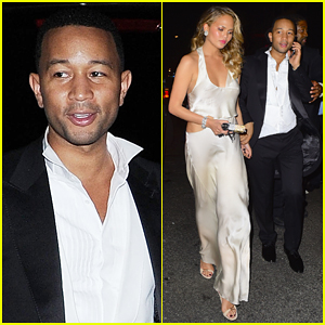 Chrissy Teigen & John Legend Live It Up at Rihanna's Met Gala 2015 After Party!
