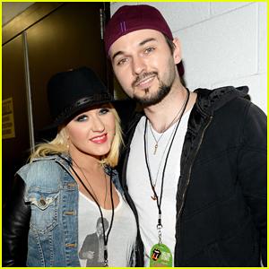 Christina Aguilera & Fiance Matthew Rutler Cuddle Up at Rolling Stones 'Zip Code' Tour Kick Off!