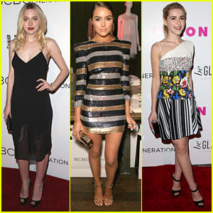 Dakota Fanning & Olivia Culpo Hit Up The Nylon Young Hollywood Party 2015