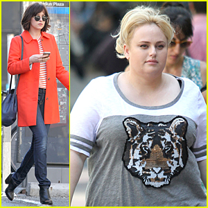 Dakota Johnson & Rebel Wilson Get Back to Work on 'How to be Single' Following Memorial Day Weekend