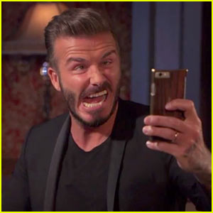 David Beckham Takes the Ultimate Ugly Selfie (Video)