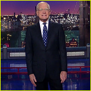 Watch David Letterman Make His Final 'Late Show' Entrance!