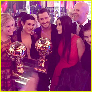 Demi Moore & Rumer Willis Celebrate Rumer's 'Dancing' Win!