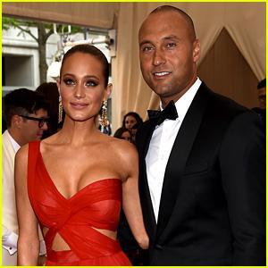 Derek Jeter and Hannah Davis Couple Up for Met Gala 2015