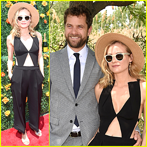 Diane Kruger & Joshua Jackson Are Perfect Couple at Veuve Clicquot Polo Classic