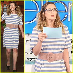 Drew Barrymore Calls Herself a 'Potato' in Jaywalking Incident