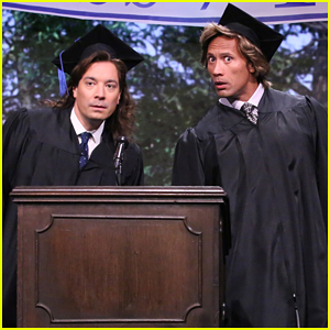 Dwayne 'The Rock' Johnson & Jimmy Fallon Deliver Hilarious 1989 Graduation Speech on 'The Tonight Show' - Watch Here!