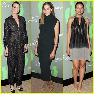 Ellen Pompeo, Michelle Monaghan, & Emmanuelle Chriqui Celebrate Good Cause In Style at The A Gala!