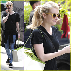 Emma Roberts Shares Post-Met Gala Selfie & New 'Scream Queens' Teaser