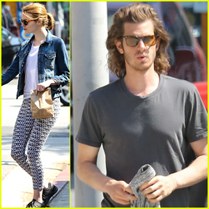 Emma Stone & Andrew Garfield Continue Reunion in WeHo