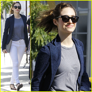 Emmy Rossum Pays Tribute to Ben E. King with 'Stand By Me' Cover - Watch Here!