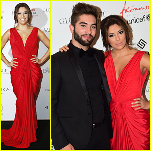 Eva Longoria Is Red Hot for Global Gift Gala 2015!