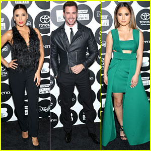 Eva Longoria & William Levy Step Out For People En Espanol's 50 Most Beautiful Gala