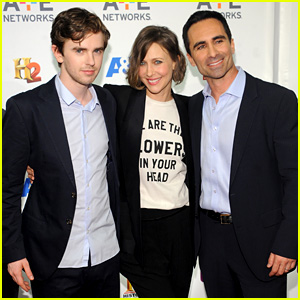 Vera Farmiga & Freddie Highmore Pair Up for the A+E Upfronts