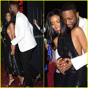 Gabrielle Union & Dwyane Wade Are Completely Adorable at Met Gala After Party!