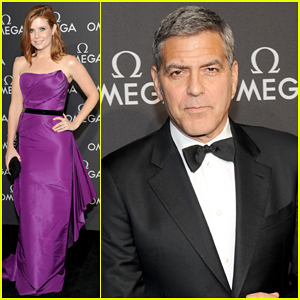 George Clooney Celebrates Apollo 13 Mission 45th Anniversary at Omega Gala!
