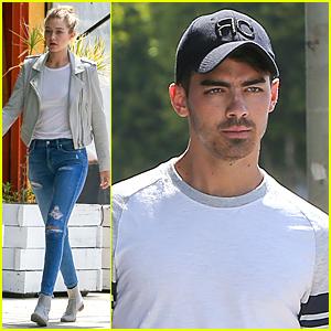 Gigi Hadid Grabs Lunch With Joe Jonas After Cody Simpson Split