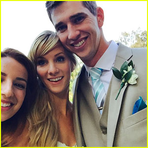 Glee's Heather Morris Marries Longtime Love Taylor Hubbell