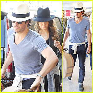 Ian Somerhalder Celebrates Nikki Reed On Her 27th Birthday - See His Sweet Message!