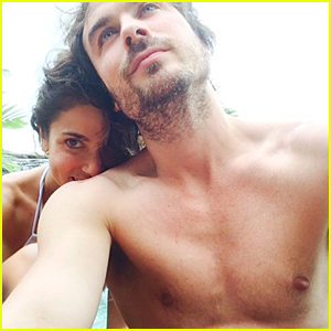 Ian Somerhalder Posts Shirtless Sexy Honeymoon Pic With Nikki Reed