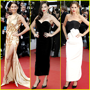 Irina Shayk & Adriana Lima Continue to Kill it at Cannes!