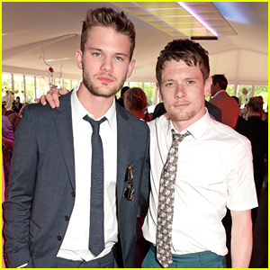 Jack O'Connell & Jeremy Irvine Mingle with the Best of the Brits