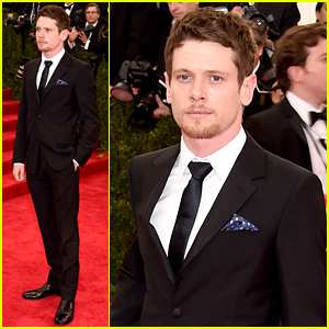 Unbroken's Jack O'Connell Looks So Suave at Met Gala 2015
