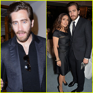 Jake Gyllenhaal Attends Star-Studded Dinner in Cannes