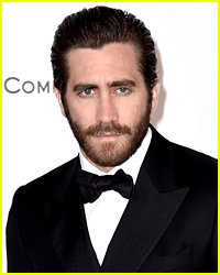 Jake Gyllenhaal Flaunts Chest Hair While Shirtless in Italy