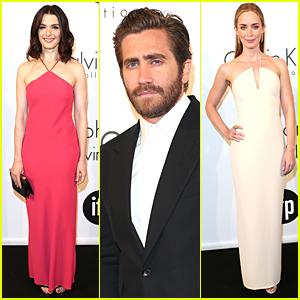 Jake Gyllenhaal & Rachel Weisz Celebrate Women in Film at Cannes