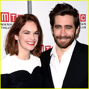 Jake Gyllenhaal & Ruth Wilson Reportedly Spotted Kissing!