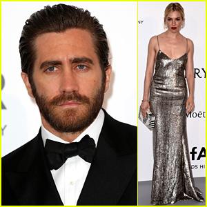 Jake Gyllenhaal & Sienna Miller Get Dressy For amfAR's Cannes Gala!