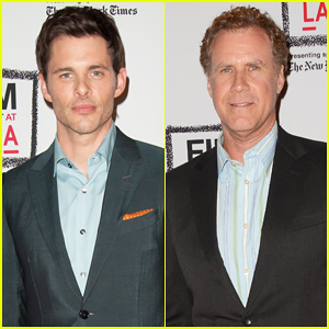 James Marsden & Will Ferrell Buddy Up at 'Welcome To Me' LACMA Screening!