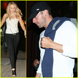 Jennifer Lawrence & Chris Martin Meet Up at Comedy Benefit for the People of Nepal!