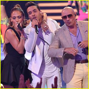 Jennifer Lopez's 'American Idol' Finale Performance with Prince Royce & Pitbull (Video)